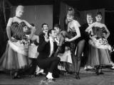 """Cyd Charisse and Roland Petit segment """"Deuil en 24 heures"""": Les Collants Noirs  1960"""
