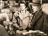 Jean Gabin and Robert Hirsch: Maigret et L'Affaire Saint Fiacre  1959