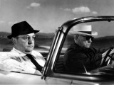 Jean Gabin and Bernard Blier: Le Cave Se Rebiffe  1961