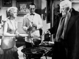 Jean Gabin and Jacqueline Maillan: Archimède  Le Clochard  1959