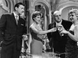 Martine Carol  Bernard Blier  Franck Villard Andginette Leclerc: Le Cave Se Rebiffe  1961
