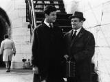 """Louis de Funès and Jean-Claude Brialy (episode """"Bien d'autrui ne prendras""""): Le Diable et Les Dix C"""
