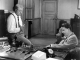 Jean Gabin and Jean Desailly: Maigret Tend Un Piège  1958