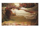 La Belle au bois dormant Giclée par Thomas Ralph Spence