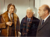 Jean Gabin  Bernard Blier and F&#233;lix Marten: Le Tueur  1972