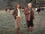 Jean Gabin and Michel Barbey: La Horse  1970