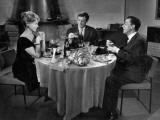 Jean-Paul Belmondo  Paul Meurisse and Dany Robin: La Française et L'Amour  1960