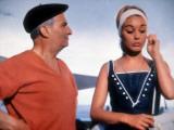 Louis de Funès and Geneviève Grad: Le Gendarme de Saint-Tropez  1964
