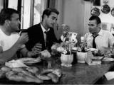 Sean Flynn  Jacques Dufilho and Pierre Mondy: Agent Spécial À Venise  1964