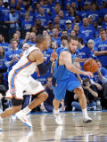 Dallas Mavericks v Oklahoma City Thunder - Game Four  Oklahoma City  OK - MAY 23: Jose Barea  Russe