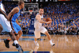 Oklahoma City Thunder v Dallas Mavericks - Game Two  Dallas  TX - MAY 19: Jose Barea  Eric Maynor