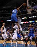 Oklahoma City Thunder v Dallas Mavericks - Game Two  Dallas  TX - MAY 19: Kevin Durant and Brendan