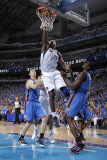 Oklahoma City Thunder v Dallas Mavericks - Game Two  Dallas  TX - MAY 19: Brendan Haywood  Serge Ib