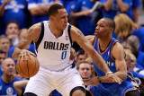 Oklahoma City Thunder v Dallas Mavericks - Game Two  Dallas  TX - MAY 19: Shawn Marion and Russell