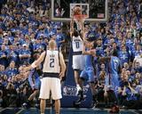 Oklahoma City Thunder v Dallas Mavericks - Game Two  Dallas  TX - MAY 19: Shawn Marion  Thabo Sefol