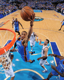 Oklahoma City Thunder v Dallas Mavericks - Game Two  Dallas  TX - MAY 19: Russell Westbrook  Tyson
