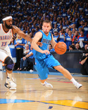 Dallas Mavericks v Oklahoma City Thunder - Game Three  Oklahoma City  OK - MAY 21: Jose Barea and J