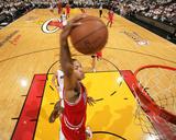 Chicago Bulls v Miami Heat - Game Four  Miami  FL - MAY 24: Derrick Rose