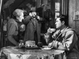 Robert Hirsch  Jean Gabin and Gabrielle Fontan: Maigret et L'Affaire Saint Fiacre  1959