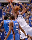 Oklahoma City Thunder v Dallas Mavericks - Game Two  Dallas  TX - MAY 19: Dirk Nowitzki  Kendrick P