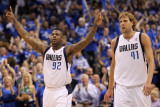 Oklahoma City Thunder v Dallas Mavericks - Game Two  Dallas  TX - MAY 19: DeShawn Stevenson  Dirk N