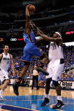 Oklahoma City Thunder v Dallas Mavericks - Game Two  Dallas  TX - MAY 19: Kevin Durant and Brendan 
