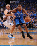 Oklahoma City Thunder v Dallas Mavericks - Game Two  Dallas  TX - MAY 19: Kevin Durant  Jason Kidd