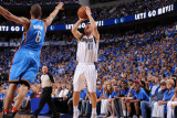 Oklahoma City Thunder v Dallas Mavericks - Game Two  Dallas  TX - MAY 19: Jose Barea and Eric Mayno