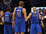 Dallas Mavericks v Oklahoma City Thunder - Game Four  Oklahoma City  OK - MAY 23: Jason Terry  Dirk