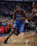 Oklahoma City Thunder v Dallas Mavericks - Game Two  Dallas  TX - MAY 19: Kevin Durant and Shawn Ma