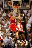 Chicago Bulls v Miami Heat - Game Three  Miami  FL - MAY 22: Carlos Boozer and LeBron James