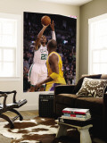 Los Angeles Lakers v Boston Celtics  Boston  MA - February 10: Ray Allen and Kobe Bryant