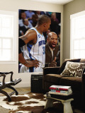 Dallas Mavericks v New Orleans Hornets: David West and Monty Williams