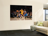 New Orleans Hornets v Los Angeles Lakers - Game Two  Los Angeles  CA - April 20: Kobe Bryant and Ch