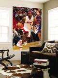 Detroit Pistons v Miami Heat: LeBron James and Tayshaun Prince