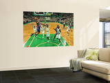 New York Knicks v Boston Celtics - Game Two  Boston  MA - April 19: Toney Douglas and Jermaine O&#39;Ne