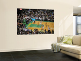 Los Angeles Lakers v Boston Celtics  Boston  MA - February 10: Ray Allen and Ron Artest