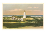 Great Point Lighthouse  Nantucket  Massachusetts