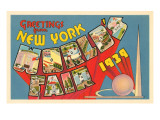 Greetings from New York World's Fair  1939