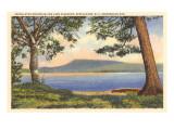 Lake Pleasant  Adirondack Mountains  New York