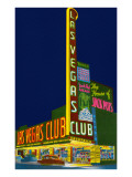 Neon Signs  Las Vegas Club  Las Vegas  Nevada