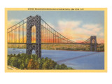 George Washington Bridge  New York City