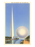 Trylon and Perisphere  New York World's Fair  1939