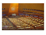 United Nations General Assembly Hall  New York City
