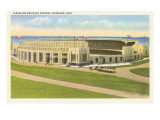 Municipal Stadium  Cleveland  Ohio