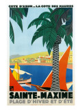 Riviera Travel Poster