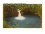 Punch Bowl  Eagle Creek  Columbia River  Oregon