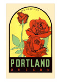 Rose City  Portland  Oregon