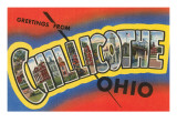 Greetings from Chillicothe  Ohio
