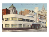 Greyhound Bus Station  Cincinnati  Ohio
